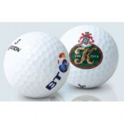 Logo Golf Balls Pinnacle Gold
