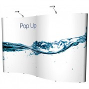 Hybrid 4x3 Popup Graphic Stand