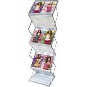 Folding A3 Brochure Stand