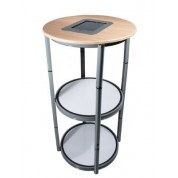 Popup Plinth Top With iPad Holder