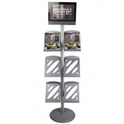 Touchscreen Brochure Stand