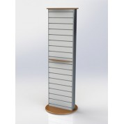 Column Slat-wall Display