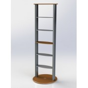 Column Shelving Display