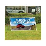 Wide Format 2 metre Outdoor Banner Stand