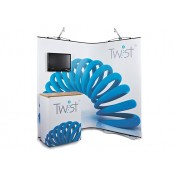 Twist Extendable Graphic Stand