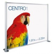 Centro 2.25m Modular Display Stand